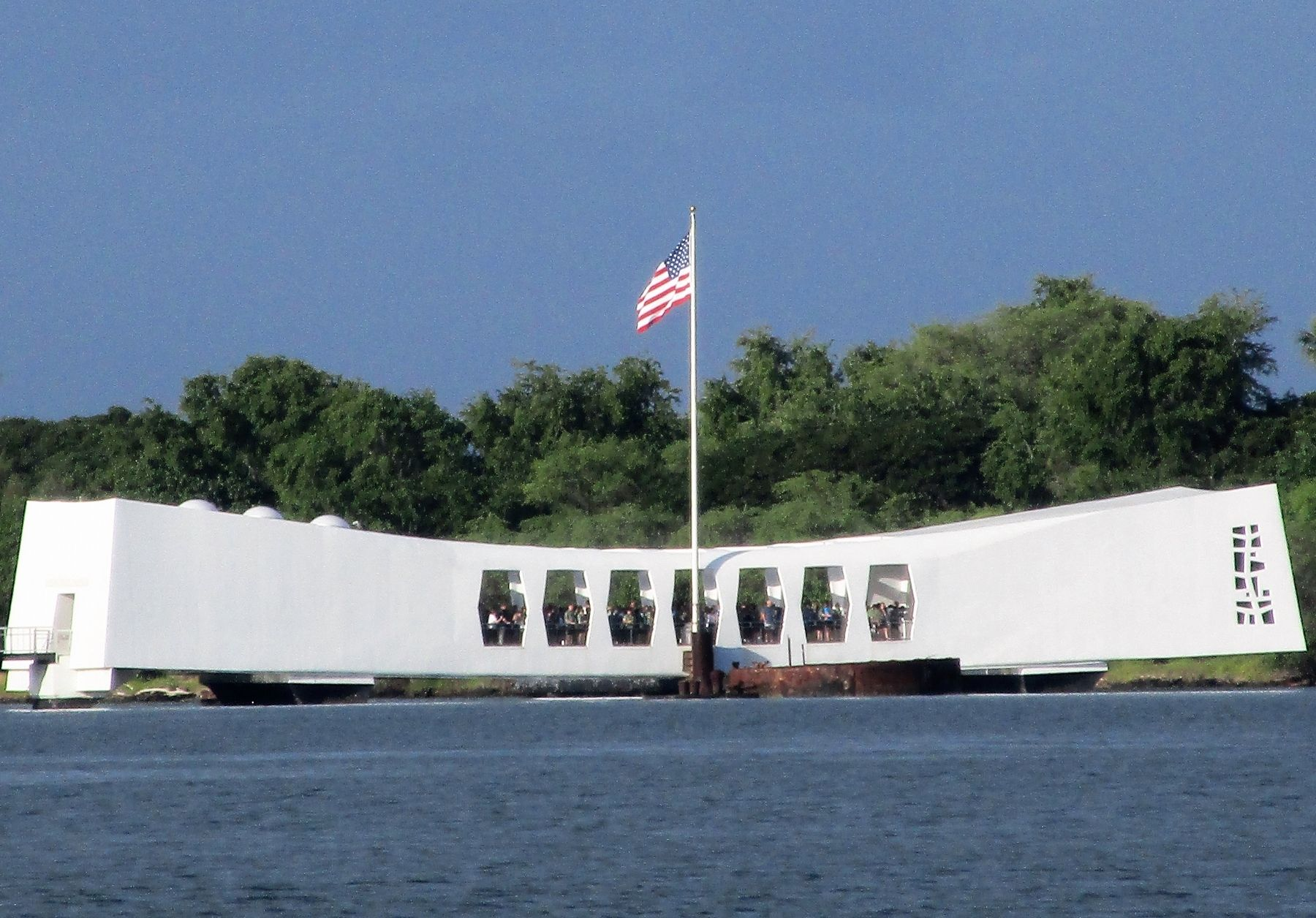 U.S.S. Arizona Memorial Marker image. Click for full size.