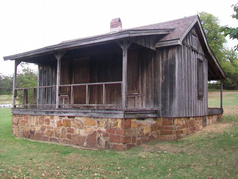 Tulsa's Oldest House image. Click for full size.