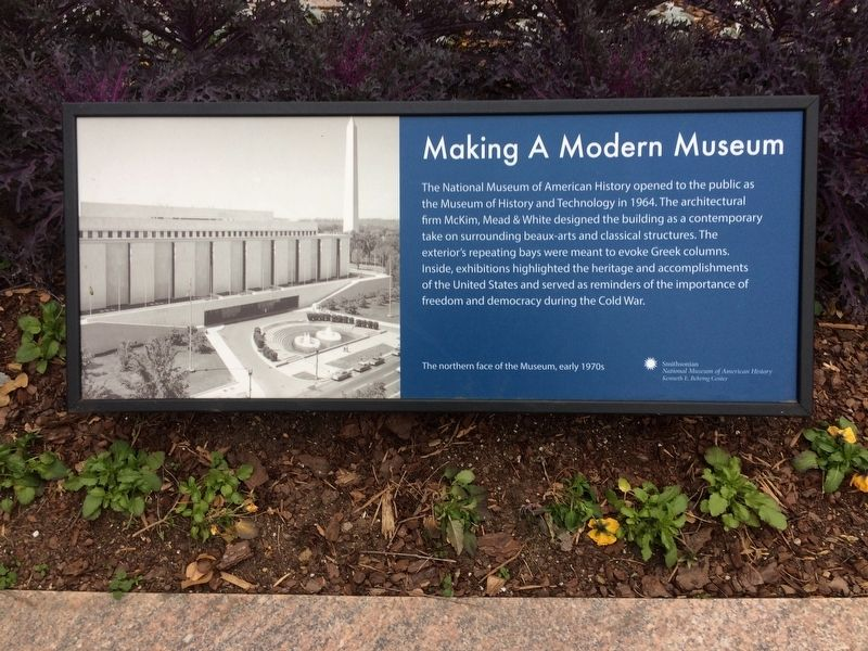 Making A Modern Museum Marker image. Click for full size.