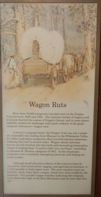 Wagon Ruts panel image. Click for full size.