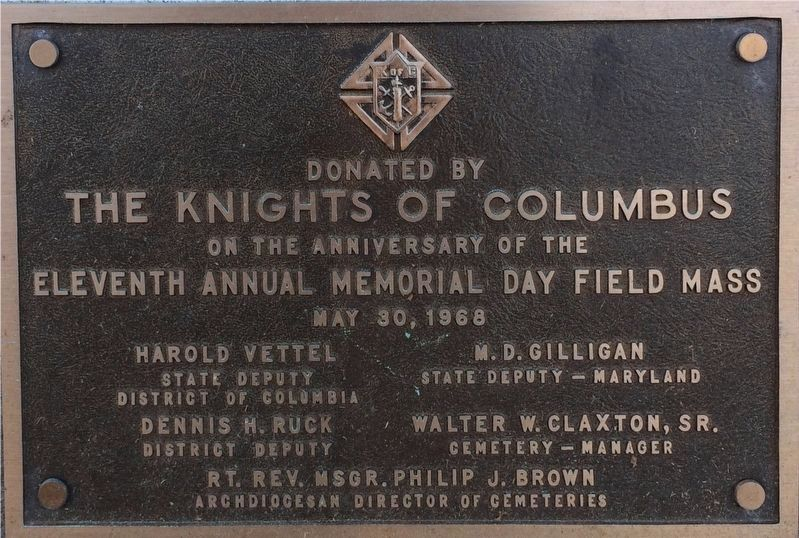 Bottom Section of Old Glory Marker image. Click for full size.
