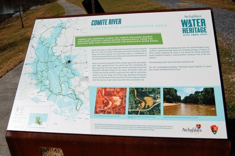 Comite River Marker image. Click for full size.