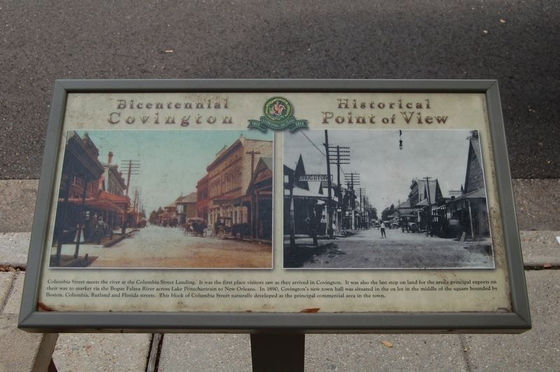 Columbia Street Marker image. Click for full size.