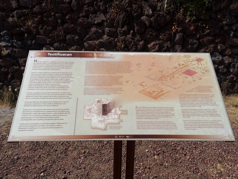 Teotihuacan Marker image. Click for full size.