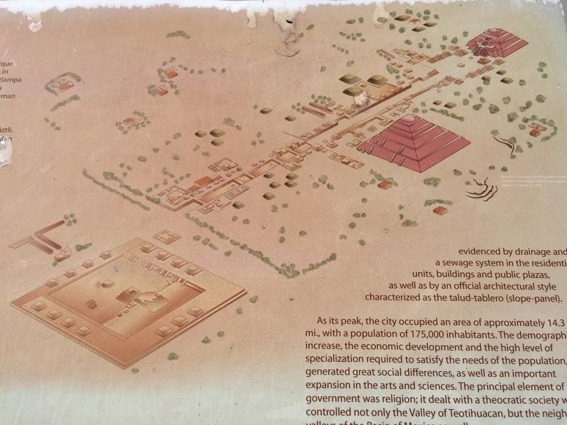 A map of Teotihuacan from the marker image. Click for full size.