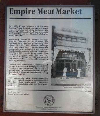 Empire Meat Market Marker image. Click for full size.