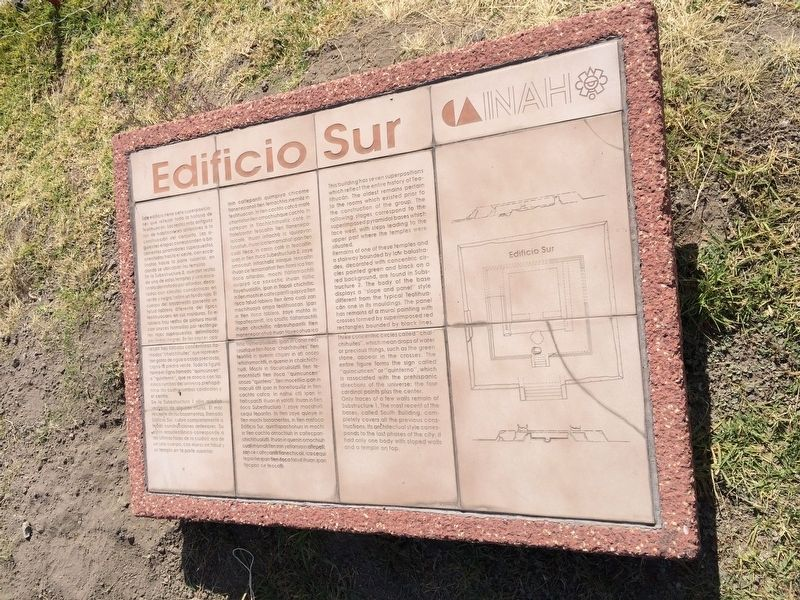 The Southern Building of Teotihuacan Marker image. Click for full size.