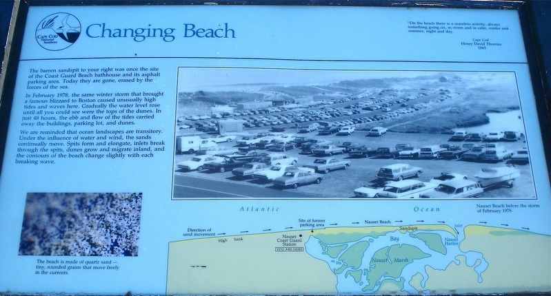 Changing Beach Marker image. Click for full size.