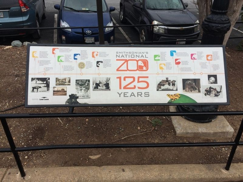 Smithsonian's National Zoo Marker image. Click for full size.