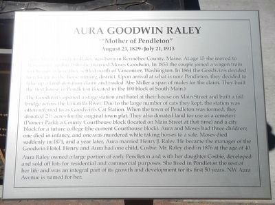 Aura Goodwin Raley Marker image. Click for full size.