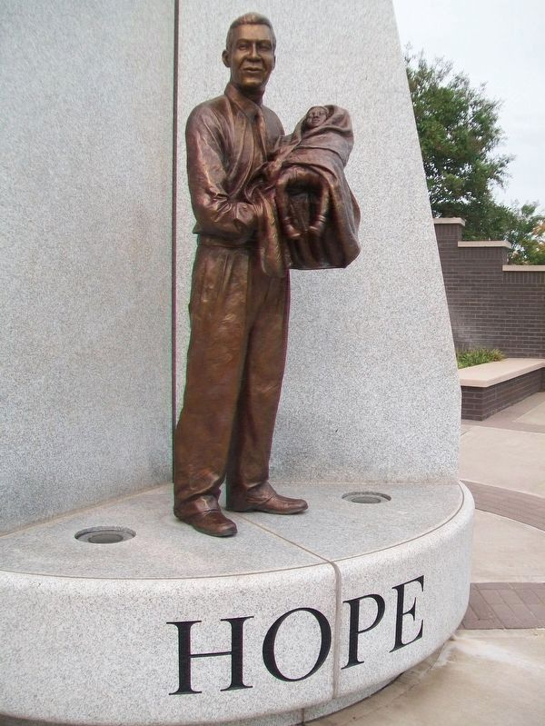 "Hope Plaza ""Hope"" image. Click for full size."