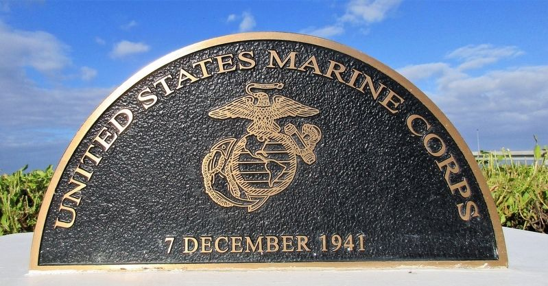 United States Marine Corps Marker image. Click for full size.