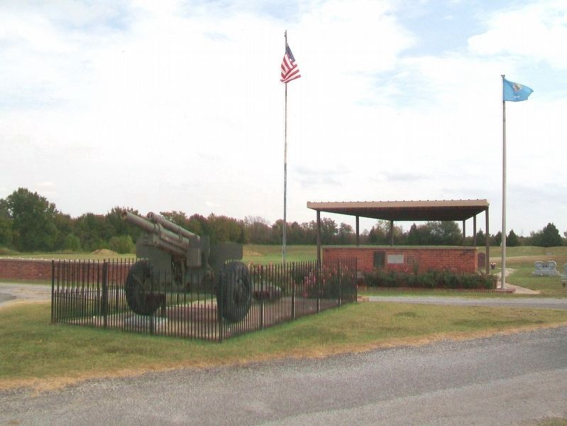 Btry B 171st Field Artillery Bn / Btry C 160th Field Artillery Bn Monument image. Click for full size.