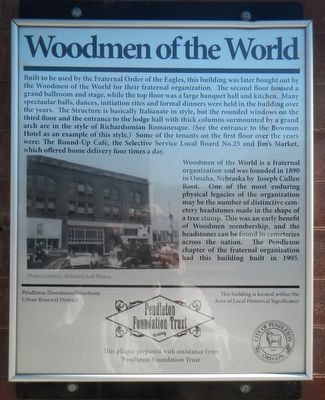 Woodmen of the World Marker image. Click for full size.