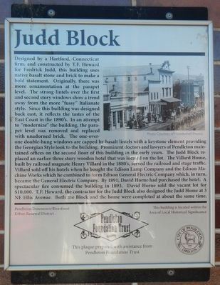 Judd Block Marker image. Click for full size.