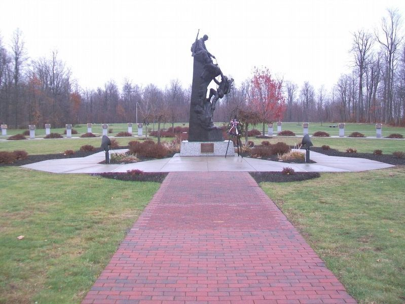 Military Mountaineers Monument image. Click for full size.