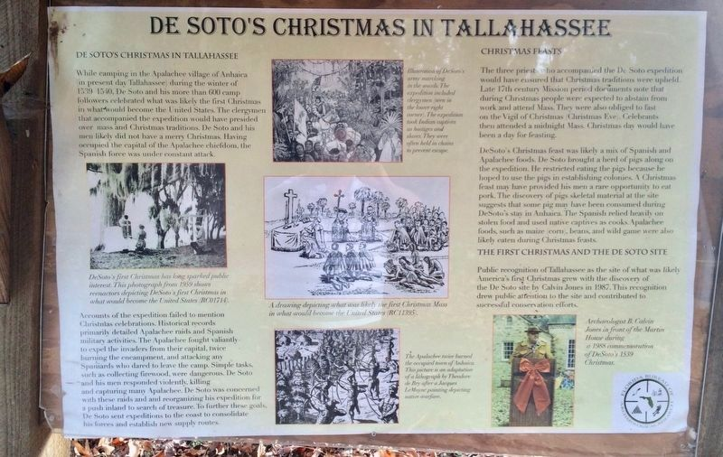 De Soto's Christmas in Tallahassee Panel image. Click for full size.