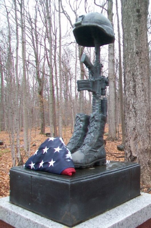 2d Battalion, 22nd Infantry Regiment Memorial Monument image. Click for full size.
