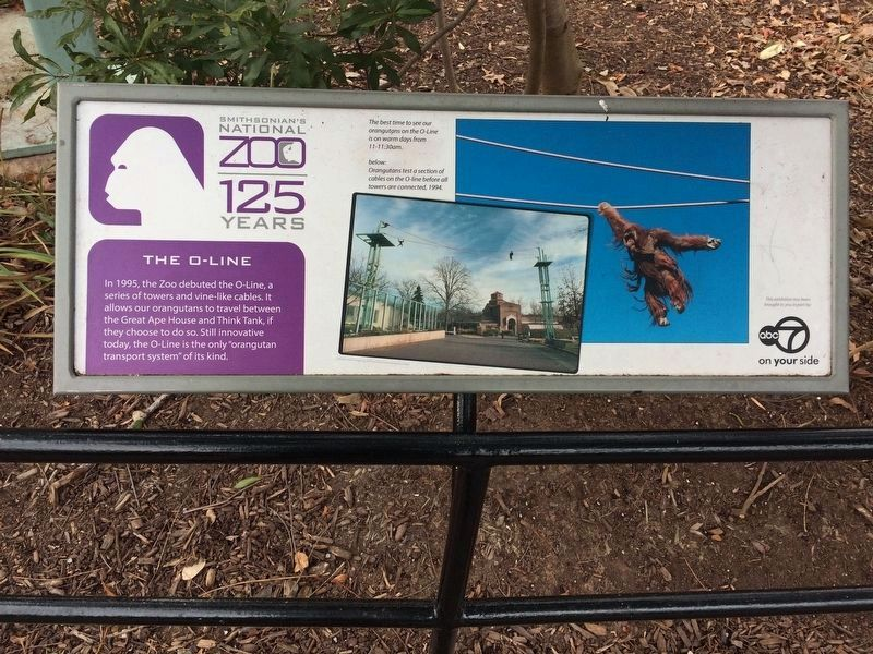 Nearly identical sign elsewhere in the Zoo, with different photos and captions image. Click for full size.