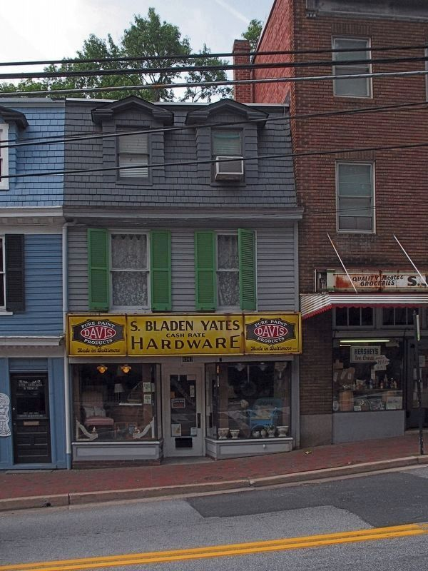 S. Bladen Yates Hardware image. Click for full size.