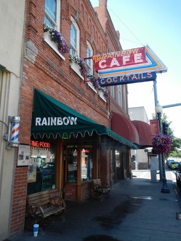 State Saloon (Rainbow Cafe) image. Click for full size.