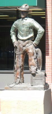 George Fletcher Statue image. Click for full size.