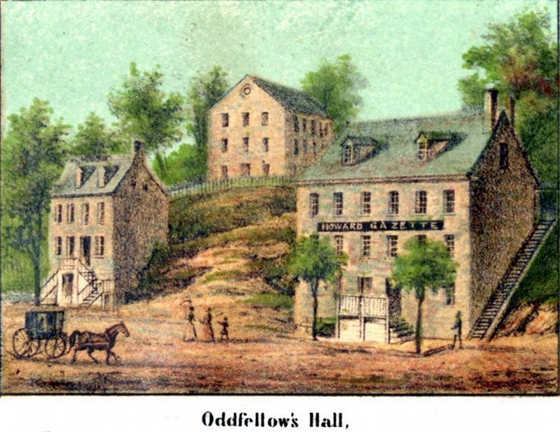 Oddfellow's Hall image. Click for full size.
