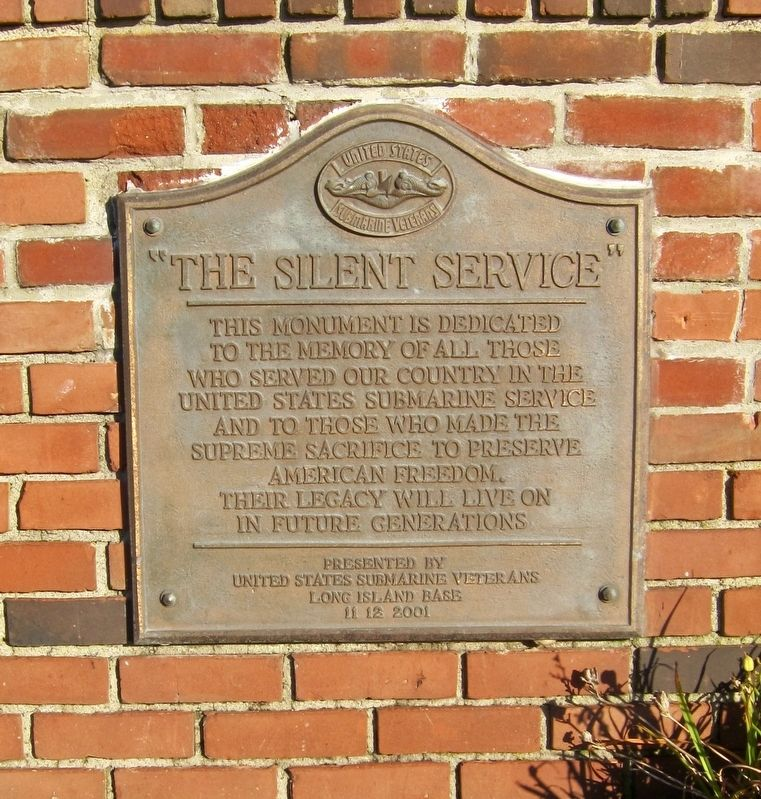 The Silent Service Marker image. Click for full size.
