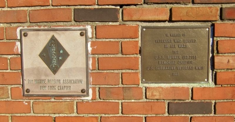 Additonal Memorial Plaques image. Click for full size.