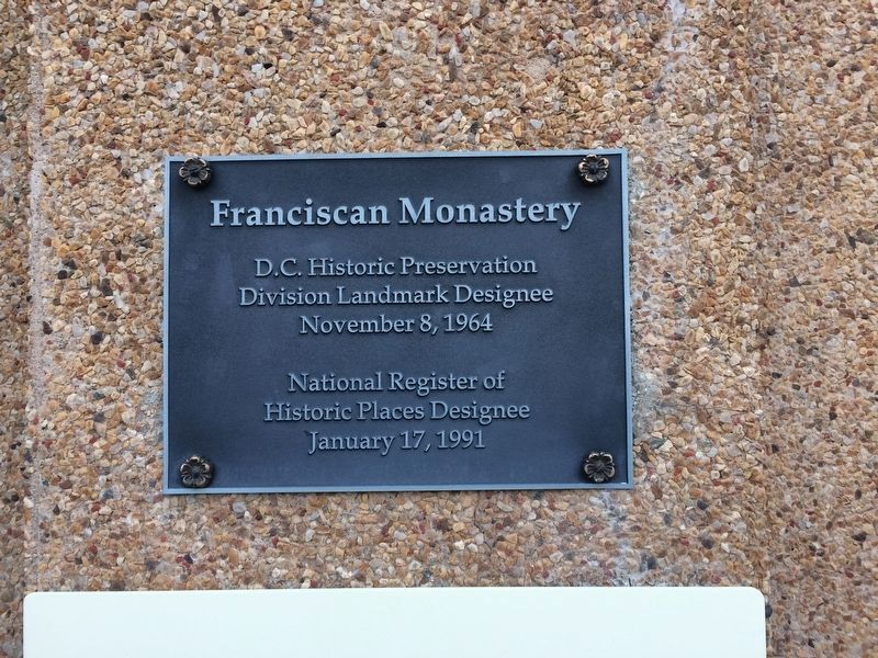 Franciscan Monastery Marker image. Click for full size.