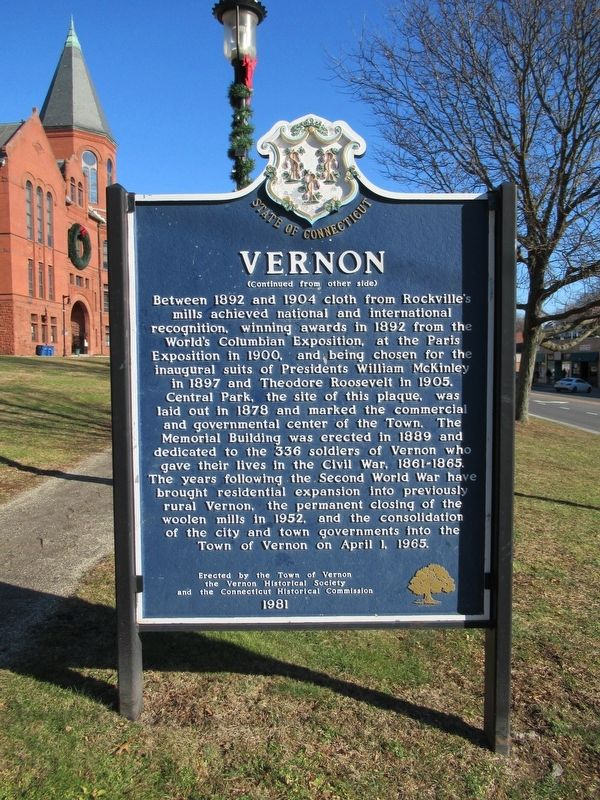 Vernon Marker image. Click for full size.