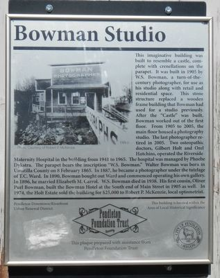 Bowman Studio Marker image. Click for full size.