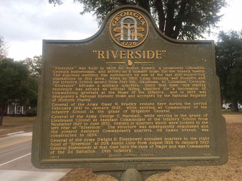 """Riverside"" Marker image. Click for full size."