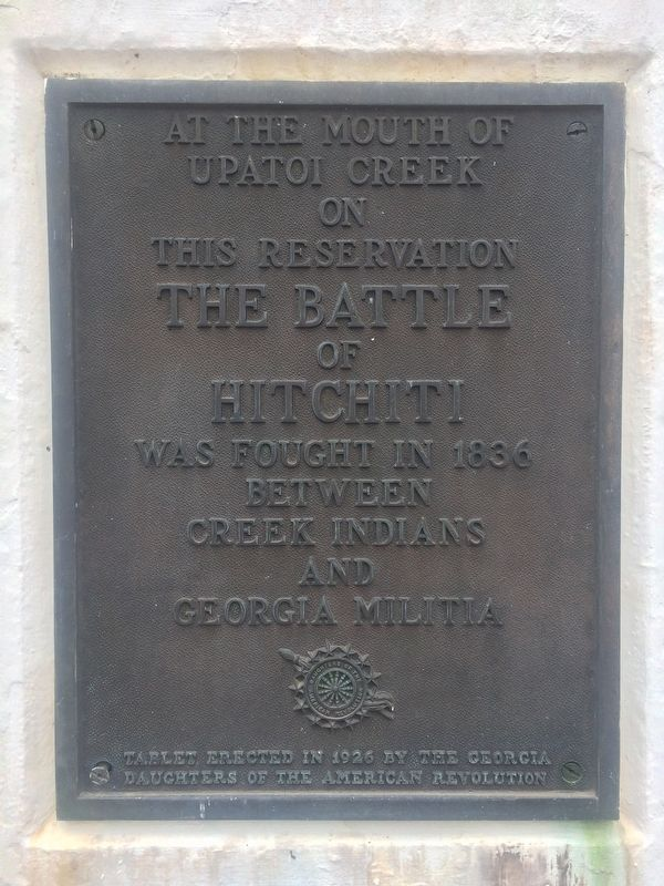 The Lafayette Monument Marker image. Click for full size.
