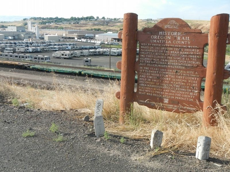Umatilla County Marker image. Click for full size.