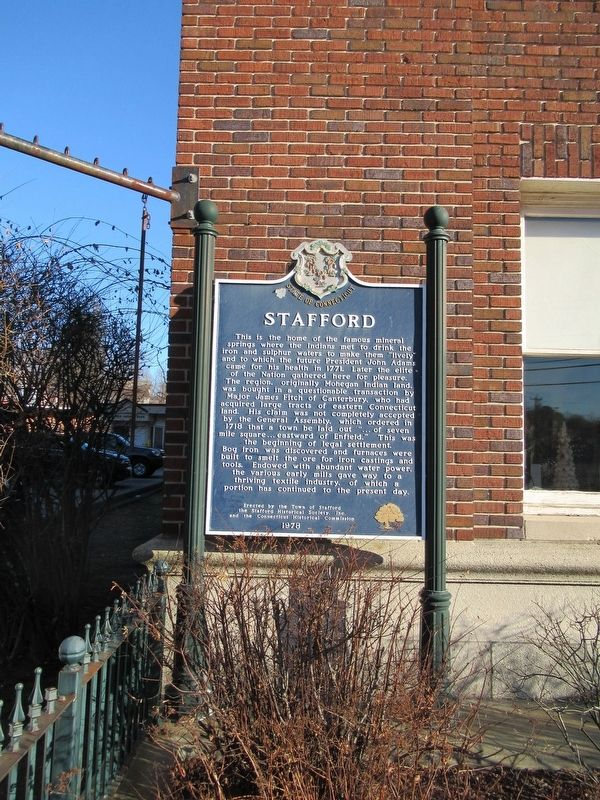 Stafford Marker image. Click for full size.