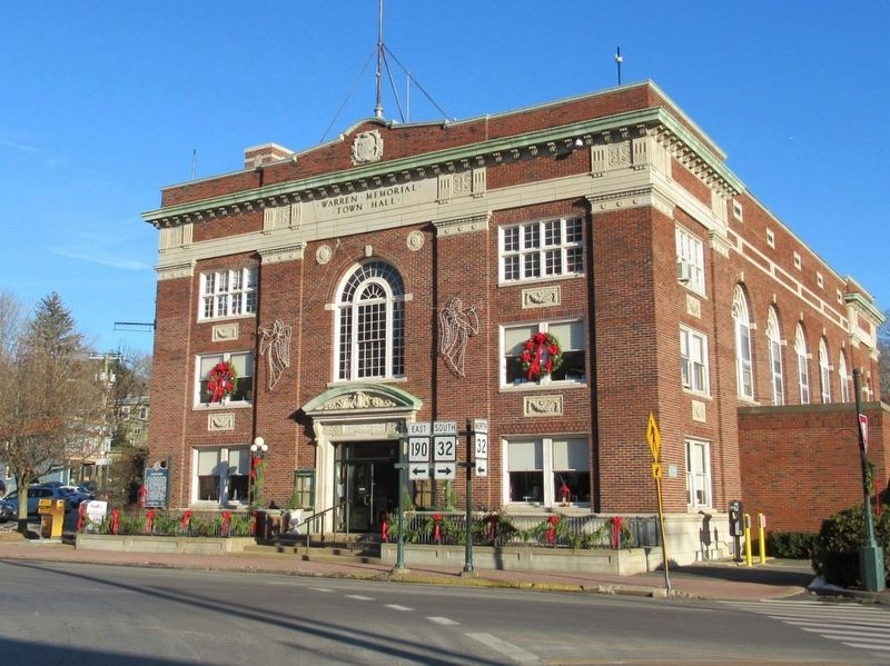 Stafford Town Hall image. Click for full size.