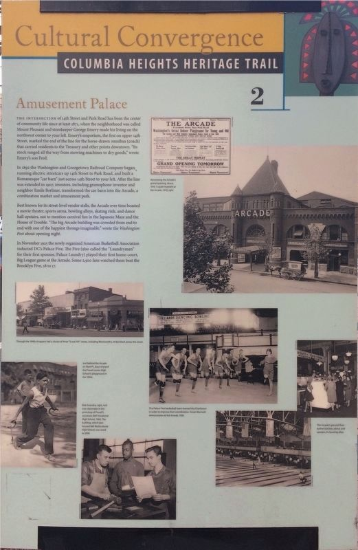 Amusement Palace Marker image. Click for full size.