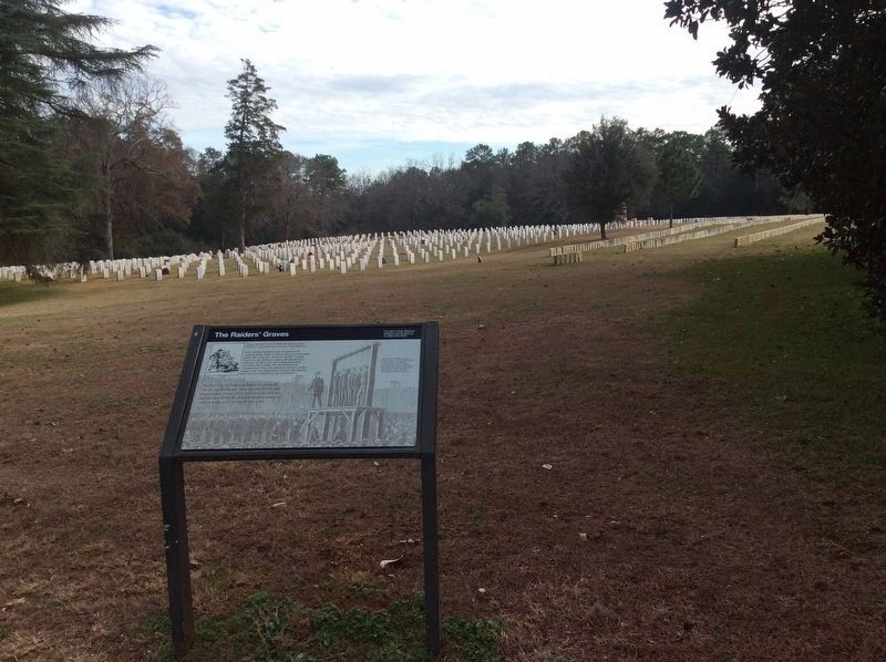 The Raiders' Graves and Marker image. Click for full size.