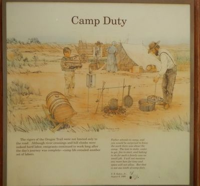 Camp Duty panel image. Click for full size.