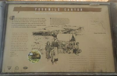 Fourmile Canyon Marker image. Click for full size.