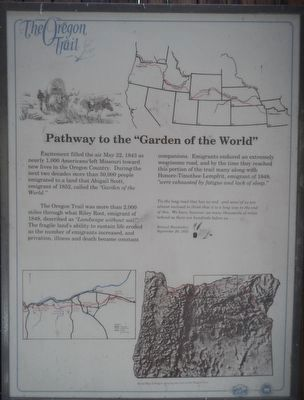 "Pathway to the ""Garden of the World"" panel image. Click for full size."