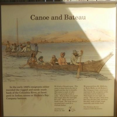 Canoe and Bateau panel image. Click for full size.