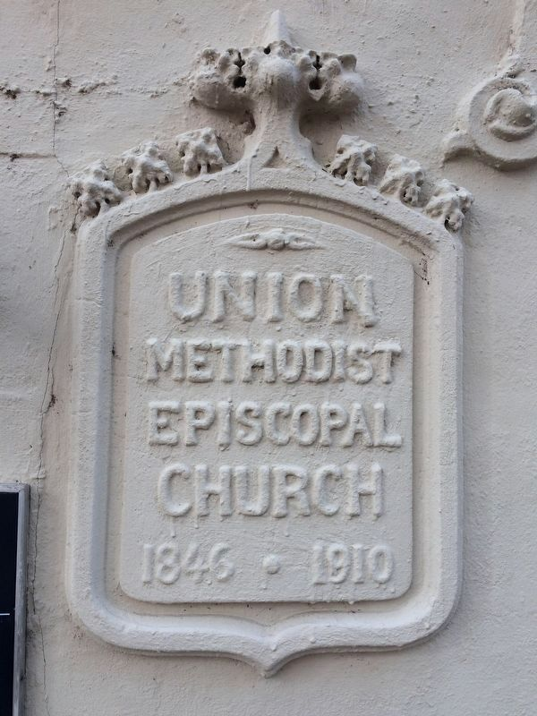 Union Methodist Church Sign image. Click for full size.