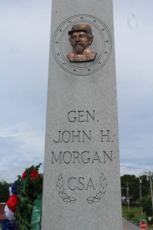Gen. John H. Morgan, C.S.A. Monument image. Click for full size.