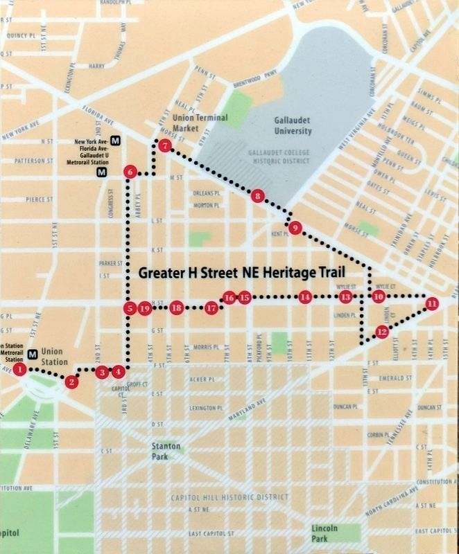 Greater H Street NE Heritage Trail image. Click for full size.