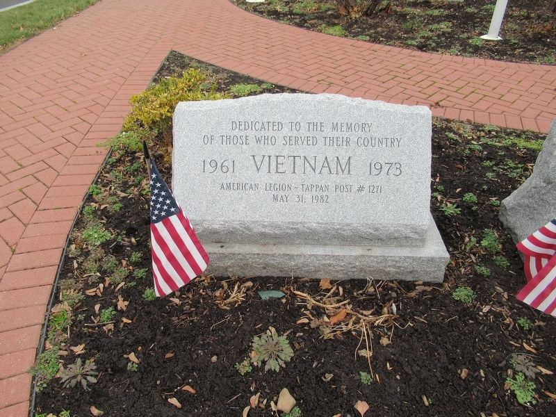 Tappan Vietnam Veterans Memorial image. Click for full size.