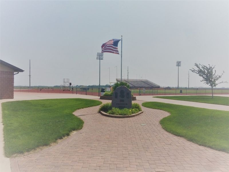 Swisher Field Marker image. Click for full size.