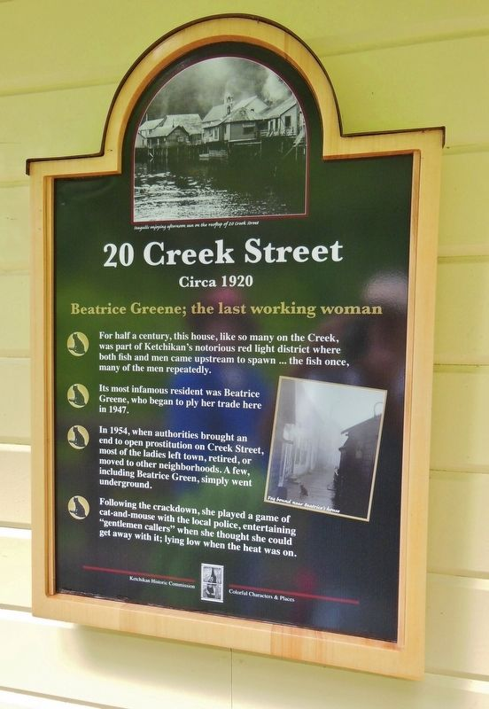 20 Creek Street Marker image. Click for full size.
