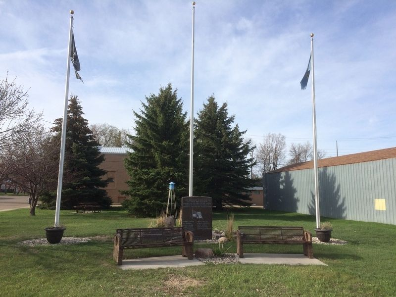 Bowdle, South Dakota Veteran's Memorial Marker image, Touch for more information